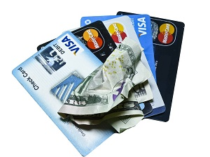 Credit cards holding out-of-control credit card debt